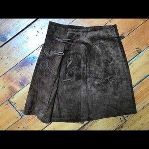 Dresses & Skirts - Genuine leather skirt